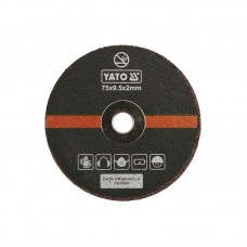 Metal cutting disc set